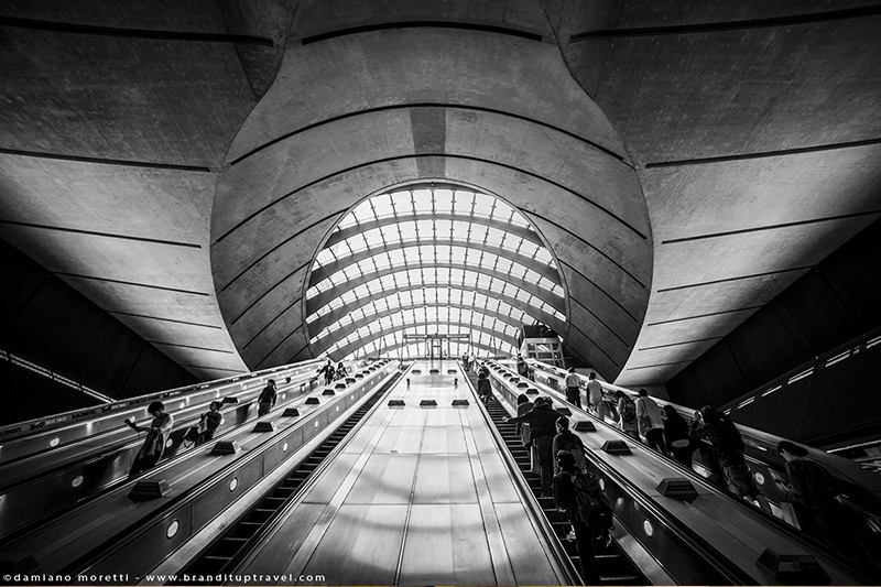 damiano moretti photography - fineart - Canary Wharf Station