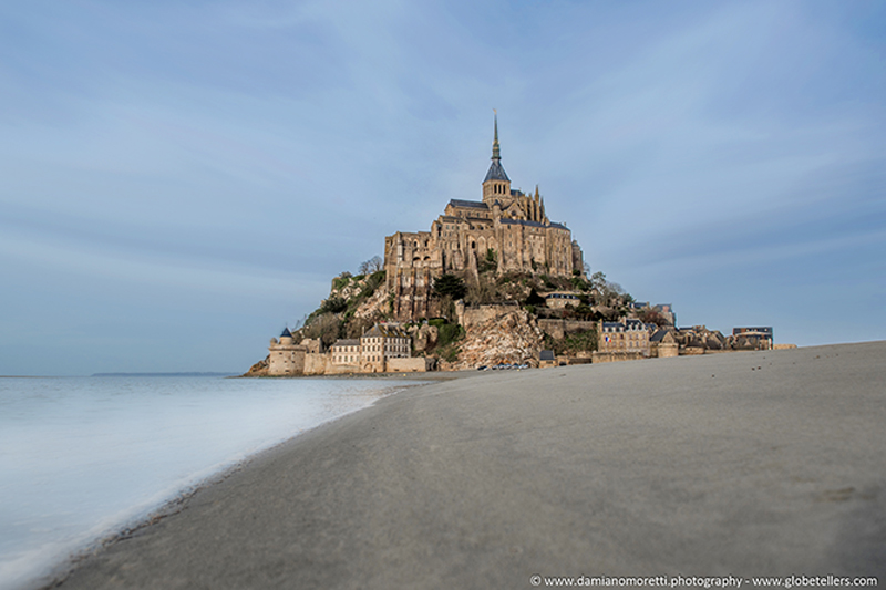damiano moretti photography - landscape - Mont Saint Michael - France