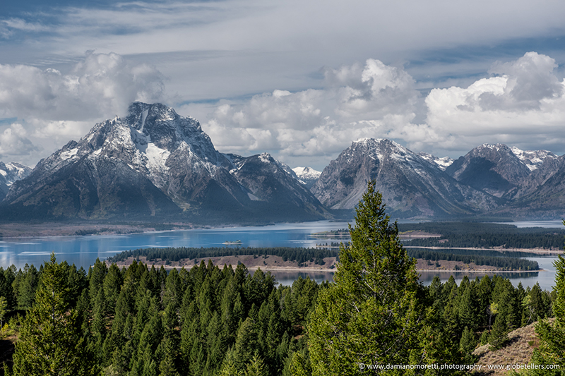 damiano moretti photography - landscape - Signal Mountain - Spalding Bay - Grand Teton - WY - USA