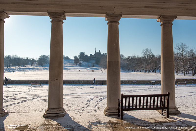 damiano moretti photography - Urban - Greenwich park in the snow - London - England